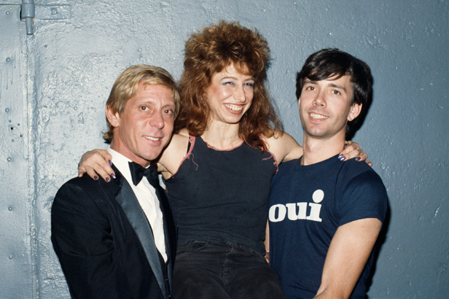 RR-With-Marc-Stevens-&-Helen-Wheels-at-Vampire-Party-at-the-Underground,-NYC,-September-28,-1983