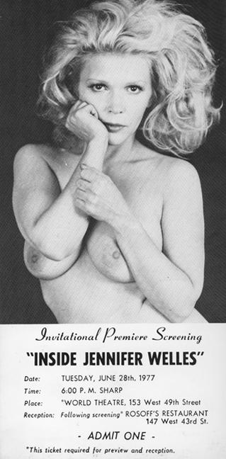 Inside Jennifer Welles