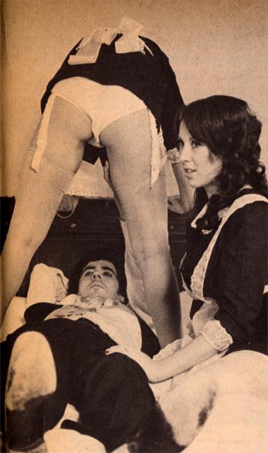 Nancy Dare's legs, Jamie Gillis, Annie Sprinkle