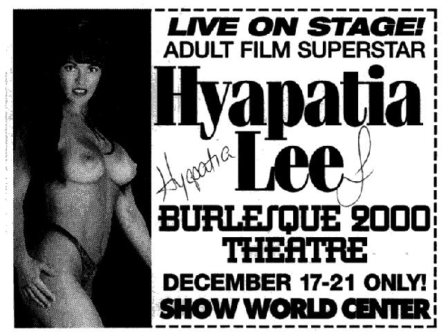 Hyapatia Lee