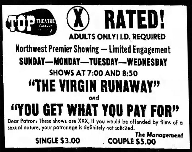Howard Ziehm, Virgin Runaway