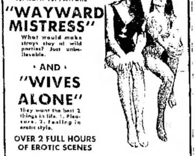 The Wayward Mistress (1973)