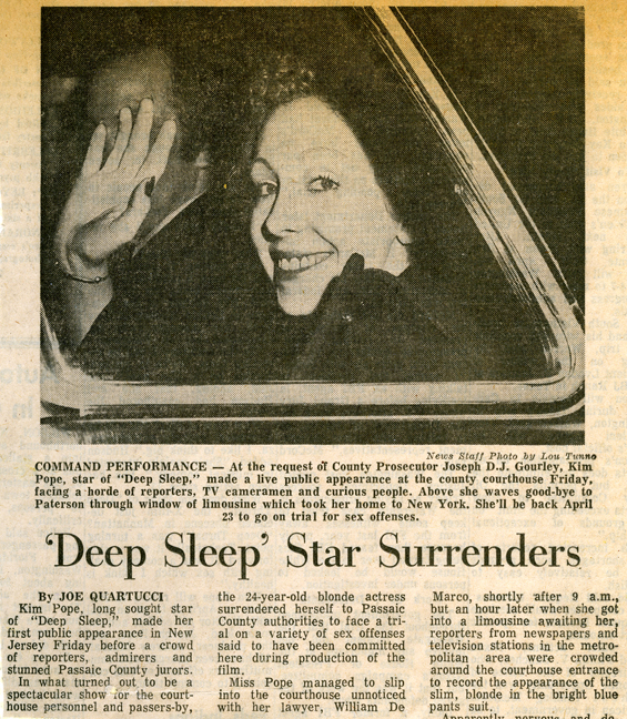 &#8216;Deep Sleep&#8217; (1972): Deep, Deep Trouble <br />Podcast 52