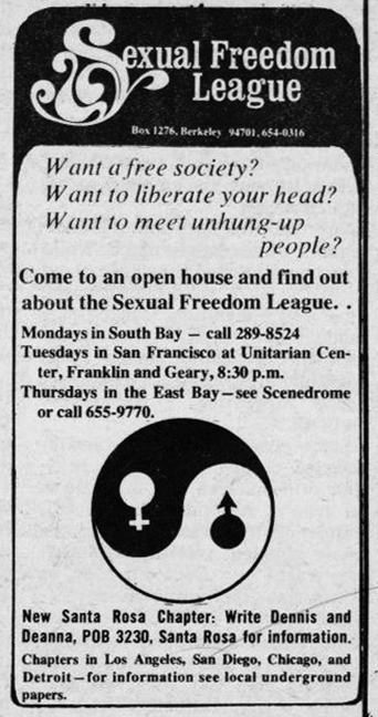 Sexual Freedom League