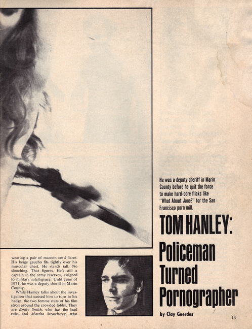Tom Hanley, What About Jane