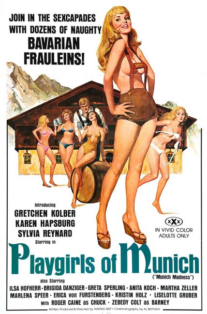 Playgirls of Munich, Navred Reef, Zebedy Colt