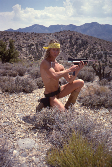 Marilyn Chambers, 1981: <br />Home on the Range