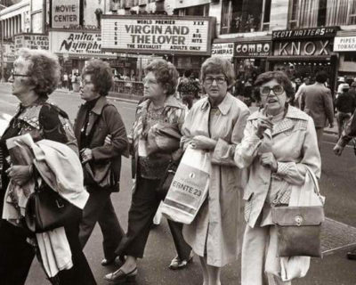 Lost Adult Theaters of New York: <br />Then and Now