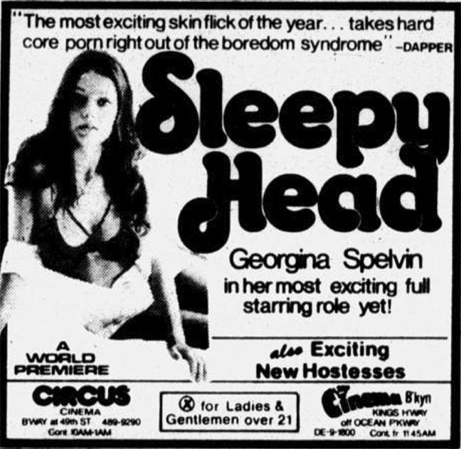 Adult Theaters, Sleepyhead