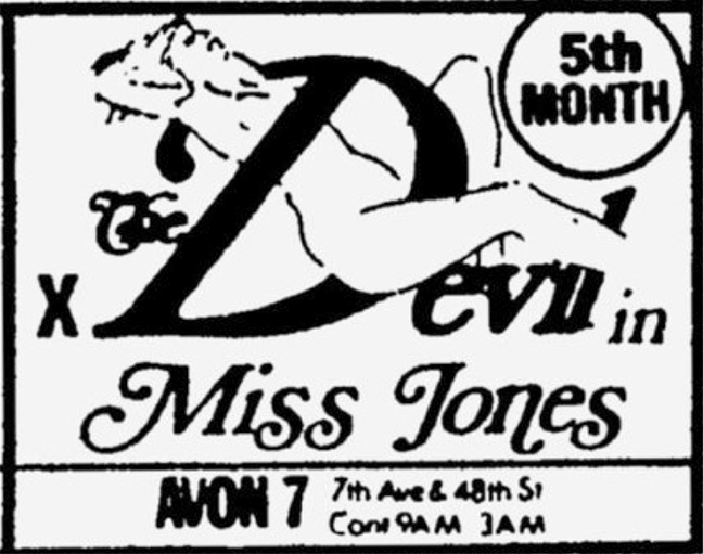 Avon 7, Devil in Miss Jones