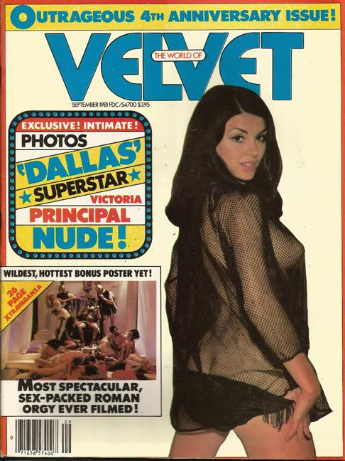 Velvet magazine, Victoria Principal