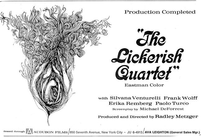 'The Lickerish Quartet' (1970): Behind The Scenes