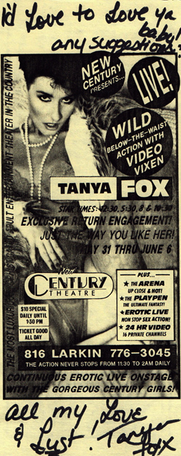 Tanya Foxx