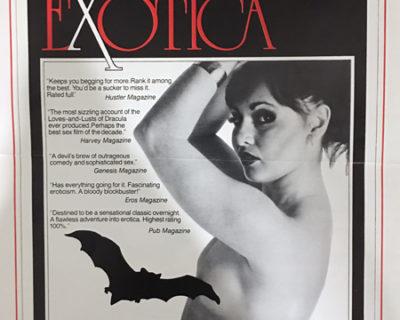 'Dracula Exotica' (1980): Rare Photographs