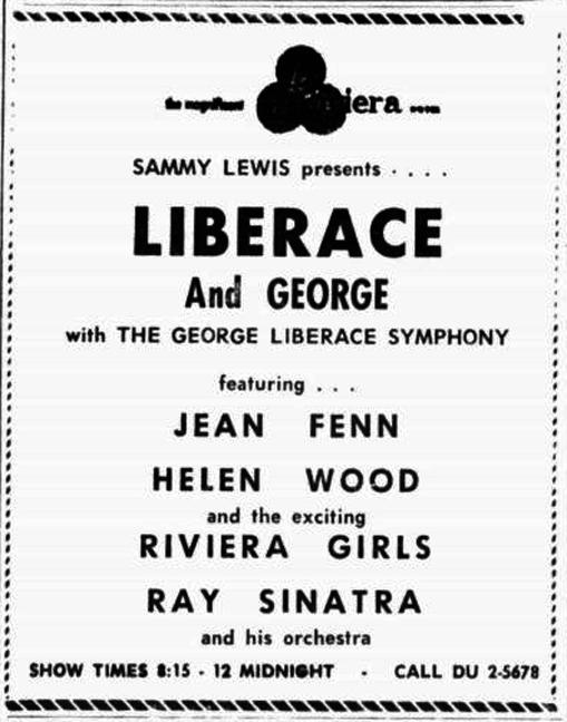 Liberace, Helen Wood