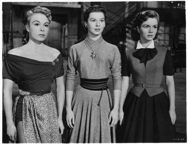 Marge Champion, Helen Wood, Debbie Reynolds