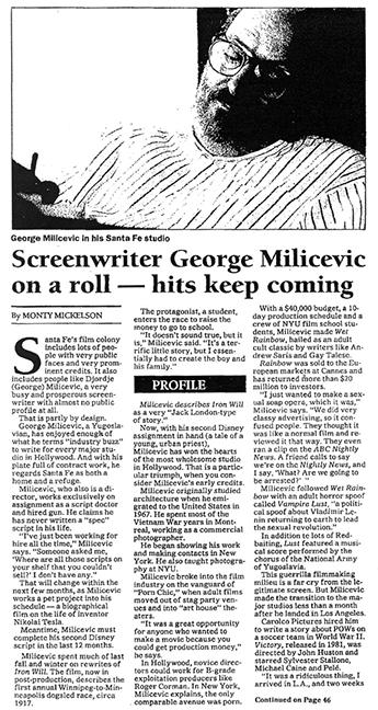 George Milicevic