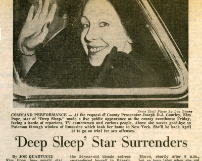 &#8216;Deep Sleep&#8217; (1972): Deep, Deep Trouble <br />Podcast 52