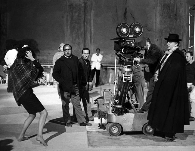 Barbara Steele, Federico Fellini
