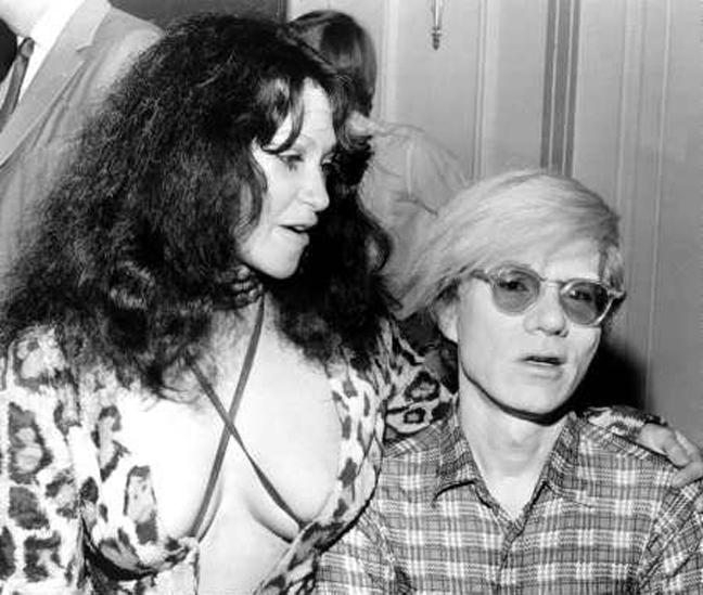 Geri Miller, Andy Warhol