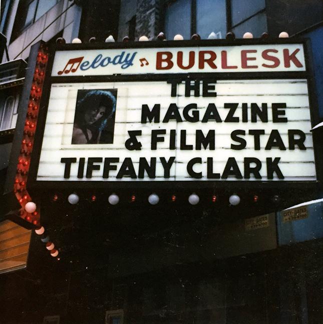 Tiffany Clark Scrapbook