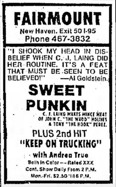 Sweet Punkin'
