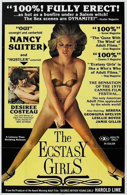 The Ecstasy Girls (1979) / The Ecstasy Girls 2 (1985) – Rare Photographs