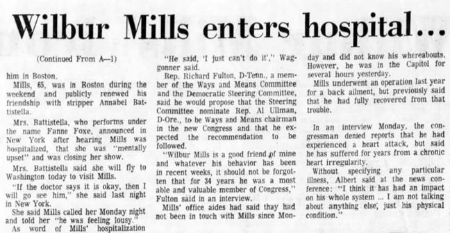 Wilbur Mills