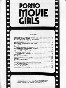 Porn Movie Girls