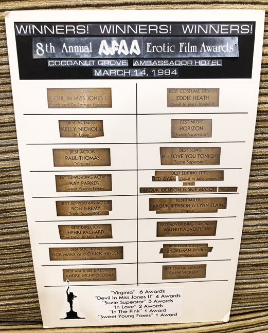 AFAA awards