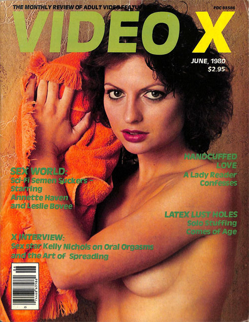 The Mob, 'Blueboy', the 'Senora Orgasmo'… and the Birth of Video X magazine