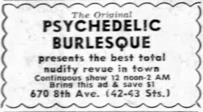 Psychedelic Burlesk