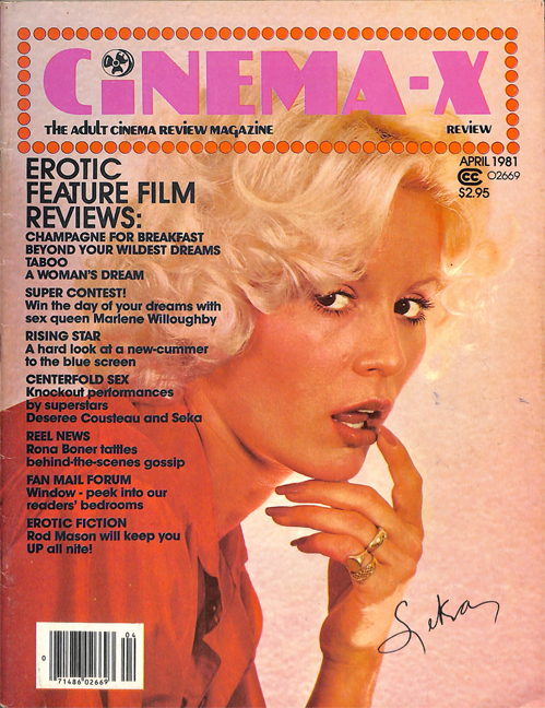 Cinema-X Review: <br />The Demise (and the complete 1981 issues)