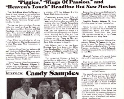 Adult Video News – The Complete Second Year (1984)