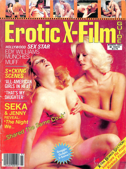 Erotic-X Film Guide in 1984: A Staff Photographer's Memories