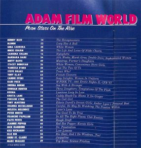 Adam Film World 05-87