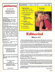 Adult Video News 07-86