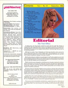 Adult Video News 09-86